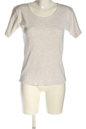 Zero T-Shirt hellgrau meliert Casual-Look