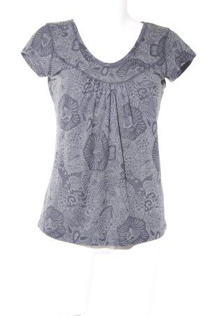 Zero T-Shirt grau-anthrazit Casual-Look