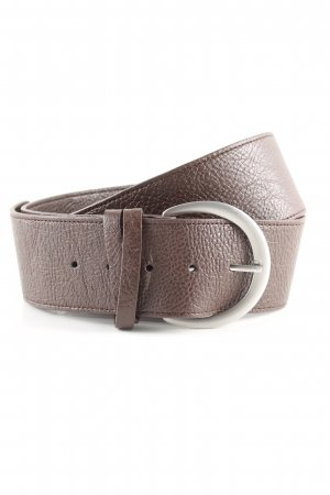 Zero Waist Belt brown business style