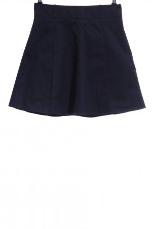 Zero Circle Skirt blue business style