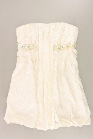 Zero trägerloses Kleid creme Größe 44