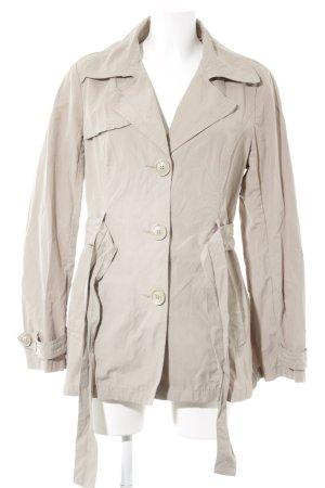 Zero Trenchcoat beige schlichter Stil