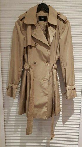 Zero, Trenchcoat, Mantel, beige, Größe 38, NEU