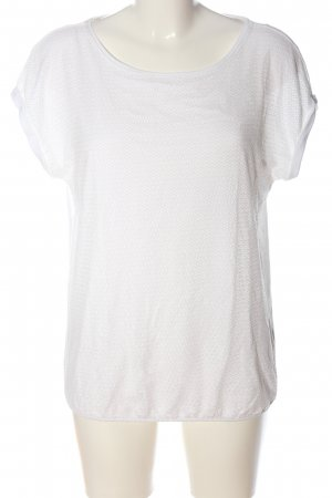 Zero Boothalsshirt wit casual uitstraling