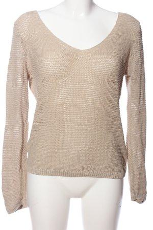 Zero V-Ausschnitt-Pullover wollweiß Casual-Look