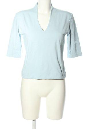 Zero V-Ausschnitt-Shirt türkis Casual-Look