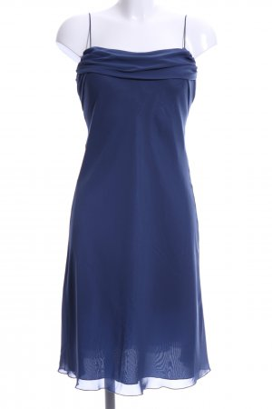 Zero Volantkleid blau Elegant
