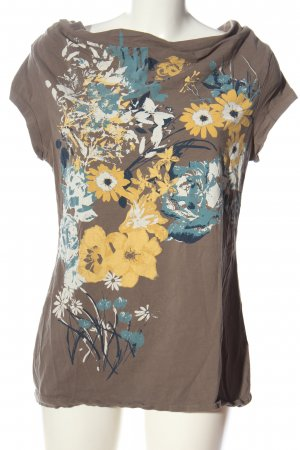 Zero Oversized Shirt Blumenmuster Casual-Look