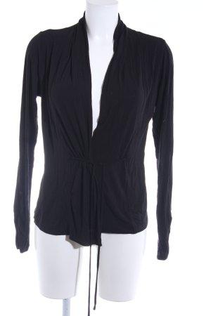 Zero Maglietta aderente nero stile casual