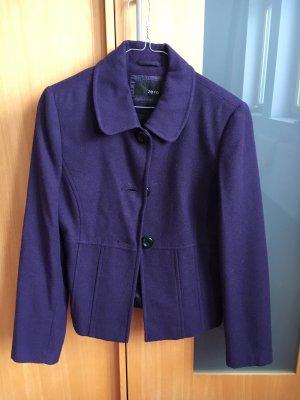 Zero Wool Blazer dark violet