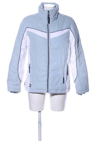 ZeroXposur Winterjacke blau-weiß Casual-Look