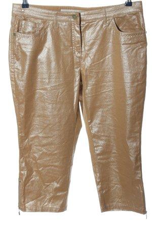 Zerres 3/4-Hose bronzefarben Glanz-Optik