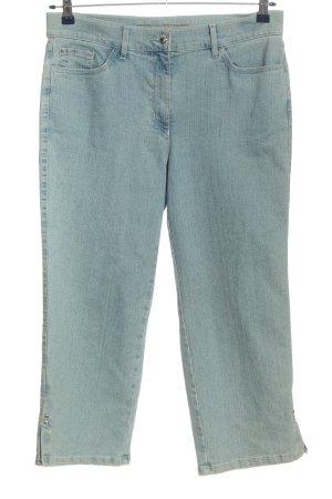 Zerres 3/4 Jeans blau Casual-Look