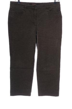 Zerres 7/8 Jeans schwarz Casual-Look