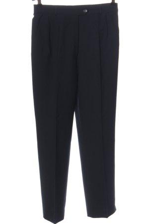Zerres Pantalon de costume noir style d'affaires