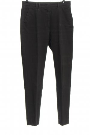 Zerres Pantalón de pinza negro estilo «business»