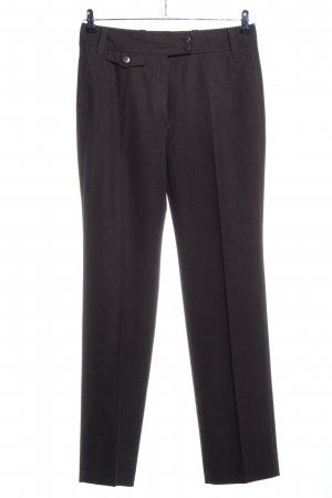 Zerres Bundfaltenhose braun Business-Look