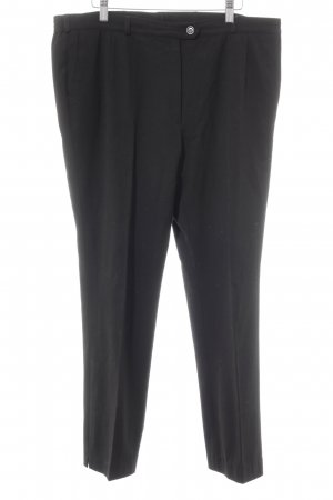 Zerres Bundfaltenhose schwarz Business-Look