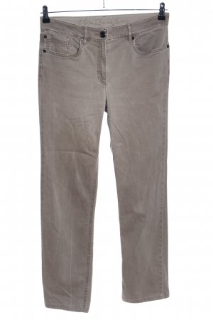 Zerres Five-Pocket-Hose braun Casual-Look