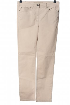 Zerres Five-Pocket-Hose wollweiß Casual-Look