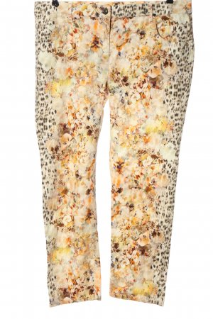 Zerres Pantalon cinq poches imprimé allover style décontracté