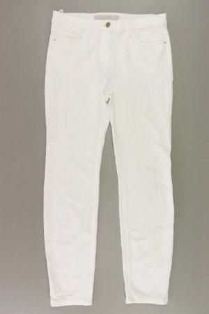 Zerres Five-Pocket-Hose Größe 38 weiß aus Viskose