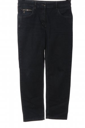 Zerres High Waist Jeans schwarz Casual-Look