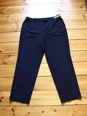Zerres Pantalon donkerblauw Wol