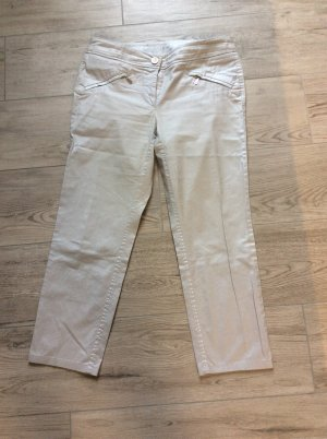 Zerres Five-Pocket Trousers light grey-silver-colored
