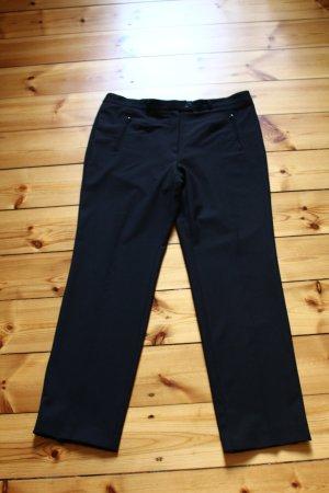 Zerres Pantalon zwart Wol