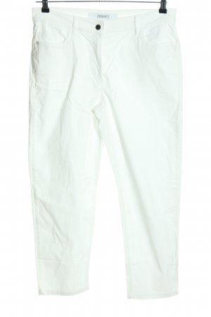 Zerres Peg Top Trousers white casual look