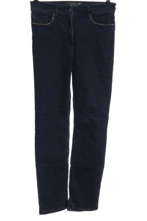 Zerres Jeans cigarette bleu style décontracté