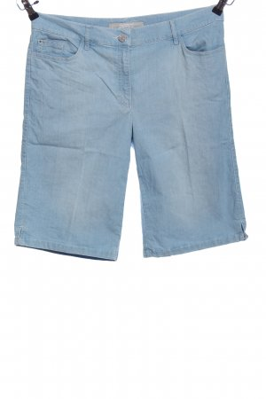 Zerres Shorts blau Casual-Look