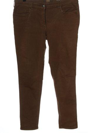 Zerres Skinny Jeans brown casual look