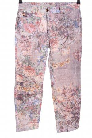 Zerres Skinny Jeans Blumenmuster Casual-Look
