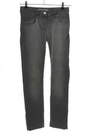 Zerres Slim Jeans hellgrau Casual-Look