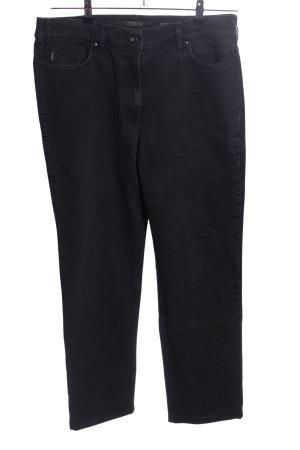 Zerres Slim Jeans schwarz Casual-Look