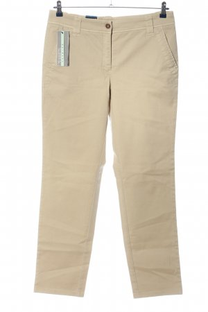 Zerres Stoffhose creme Casual-Look