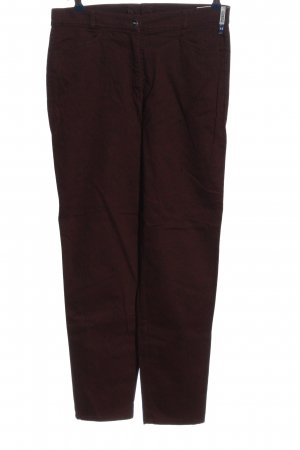 Zerres Stoffhose lila Casual-Look