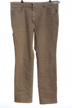 Zerres Straight-Leg Jeans braun Casual-Look