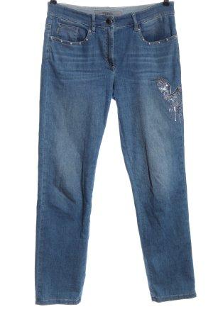 Zerres Jeansy z prostymi nogawkami niebieski W stylu casual