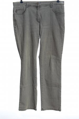 Zerres Straight-Leg Jeans hellgrau Casual-Look