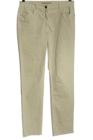 Zerres Jeansy z prostymi nogawkami khaki W stylu casual