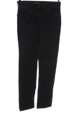 Zerres Jeansy z prostymi nogawkami czarny W stylu casual