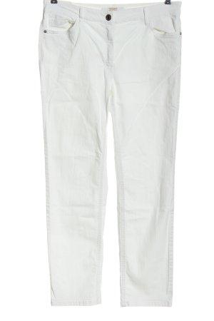 Zerres Jeans stretch blanc style décontracté