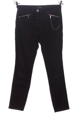 Zerres Stretch Jeans schwarz Casual-Look