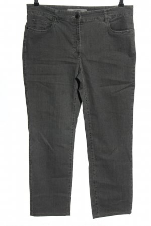 Zerres Stretch Jeans hellgrau Casual-Look