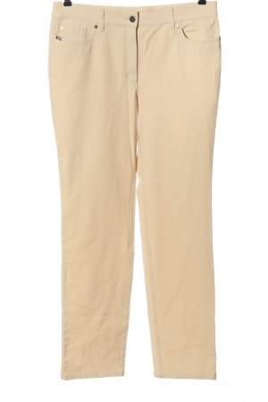 Zerres Stretchhose creme Casual-Look