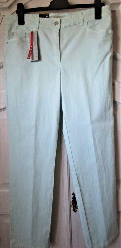 ZERRES Tina Jeans Hose helles mint grün Gr. 42