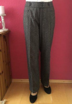 Zerres pantalón de cintura baja marrón-marrón oscuro Lana